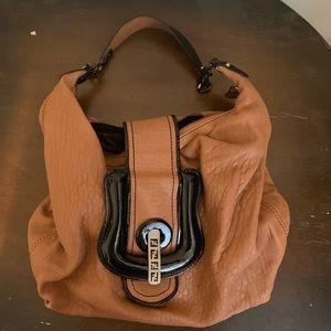 Fendi purse, camel color